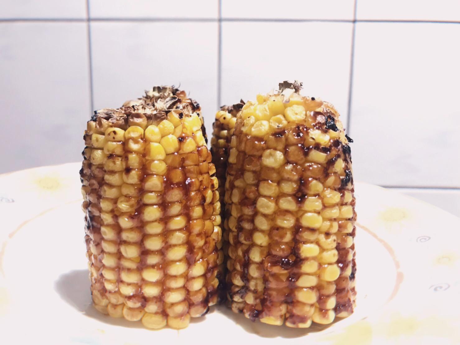 氣炸鍋 醬燒黃金玉米
