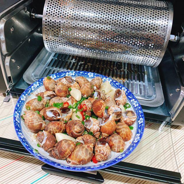 FREEROLL翻轉烤箱 料理:螺肉