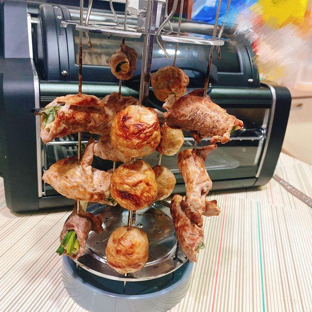 FREEROLL翻轉烤箱 料理 :串燒