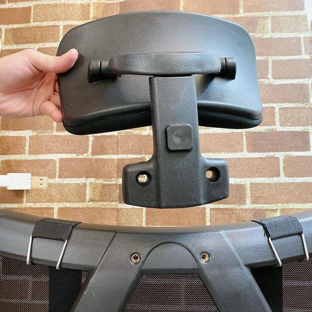 Future Lab 7D人體工學躺椅組裝過程 頭枕