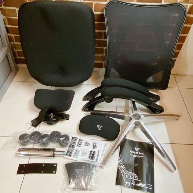 Future Lab 7D人體工學躺椅 配件照