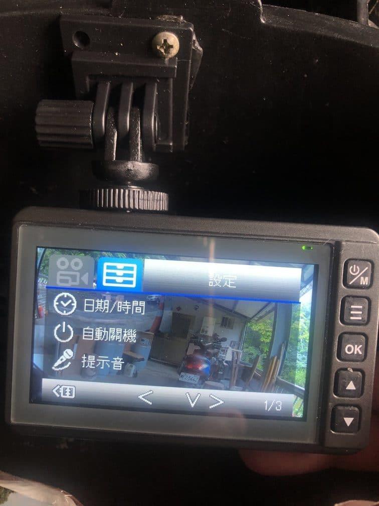LOOKING MARS戰神 機車行車記錄器 主機設定簡單介紹
